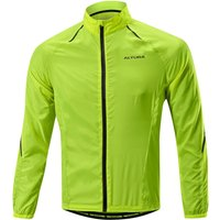 Altura - Airstream Windproof Jacket Yellow Small