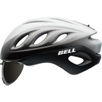 Bell - Star Pro Shield Helmet White/black Blur Small