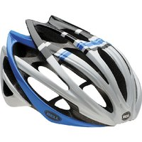 Bell - Gage Helmet White/Blue Draft S