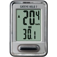 Cateye - Velo 7 Computer Grey