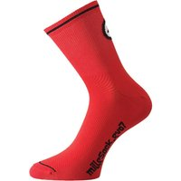 Assos - Mille Socks evo7 (2 pairs) Red/Black 1