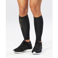2XU - Elite MCS Compression Calf Guards Black/Gold S