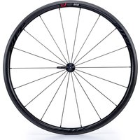 Zipp - 202 Firecrest Carbon Clincher 77 Front 18 Spokes Black Decal