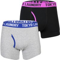 Tokyo Laundry Pack of Two Halcrow Boxer Shorts Set