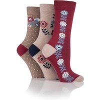 Jennifer Anderton Pack of 3 Stripe Spot Design Socks