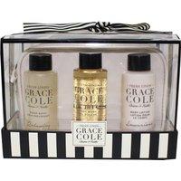 Grace Cole Fresh Linen 4 Piece Bath Travel Set