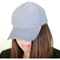 Ladies Denim Baseball Cap