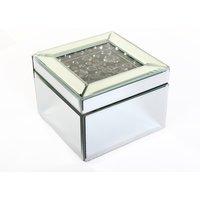 Smoke Crystal Jewellery Box - Small.
