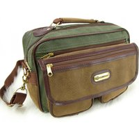 Travel Shop Suede Leather Look Flight Bag