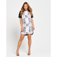 Samantha Faiers Print Front Shift Dress