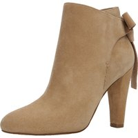 Aldo Huffington High Cone Heel Ankle Bootsie With Back Bow