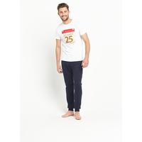 Goodsouls Pack Of Two 25th December Nightwear T-Shirt