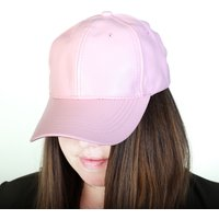 Ladies PU Baseball Cap