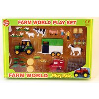 A to Z Farmer Girls Farm World Play Set