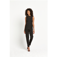 Definitions Lace Insert Jumpsuit