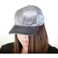 Ladies Velvet Baseball Cap