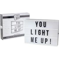 Lesser Pavey Retro Style Light Box