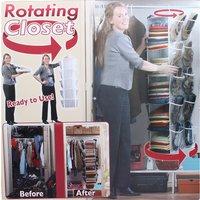 360 Rotating Wardrobe Organiser