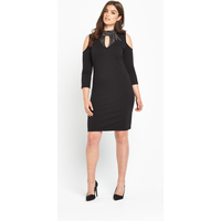 V By Very Keyhole Embellished Bodycon Dress