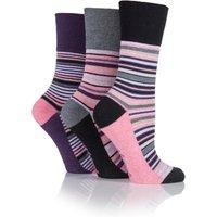 Sock Shop Pack of 3 Gentle Grip Top Socks