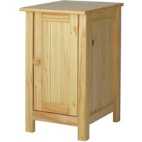 Habitat Scandinavia Slim Bedside Table - Pine, Pine