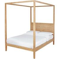 Habitat Blissford Four Poster Kingsize Bed Frame - Pine