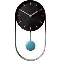 Habitat Metro Black Pendulum Wall Clock, Black