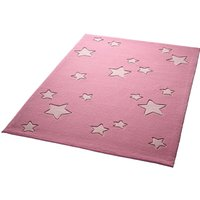 Kinderzimmerteppich Sternenzelt pink Gr. 130 x 190