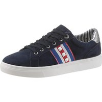 Sneaker S.Oliver Schnuerschuhe navy 5-5-23602-22-805