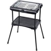 Barbecue electrique MCT-005A Noir Sur Pieds 2000W