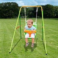 Einzelschaukel Baby Swing Metall YARDMASTER*