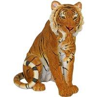 Home affaire Dekofigur Tiger sitzend mit Jungen im Maul