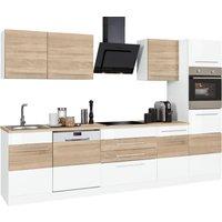 Held Möbel HELD MÖBEL Küchenzeile Trient mit E-Geräten Breite 300 cm