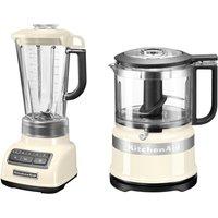 KitchenAid Standmixer 5KSB1585EAC und Mini Zerkleinerer 5KFC3516 550 Watt
