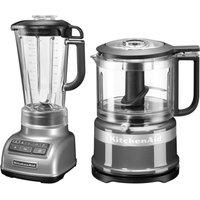 KitchenAid Standmixer 5KSB1585ECU und Mini Zerkleinerer 5KFC3516 550 Watt