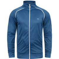 Solid Trainingsjacke 'Leander' blau