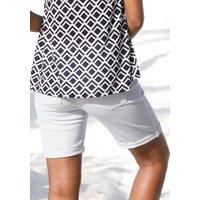 Lascana Shorts Damen in weiß, Größe 34