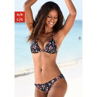 LASCANA Triangel-Bikini-Top »Bloom«