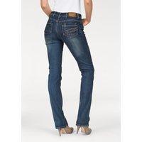 Arizona Gerade Jeans »mit Zippertasche« Mid Waist