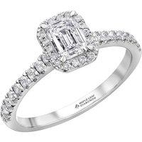 Maple Leaf Diamonds 18ct White Gold Emerald Cut Diamond