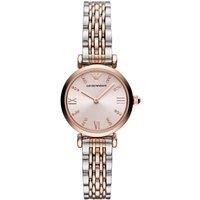 Emporio Armani T-bar Two-colour Ladies Watch