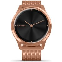 Garmin Vivomove Luxe Rose Gold Plated Smartwatch