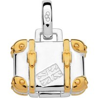 Links Of London Silver And 18ct Gold Vermeil Suitcase Charm