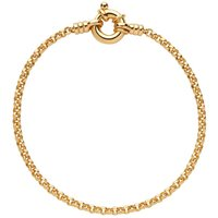 Links Of London Belcher Gold Plated Bracelet