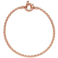 Links Of London Belcher Rose Gold Plated Silver Bracelet