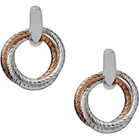 Links Of London Aurora Cluster Link Two-colour Stud Earrings