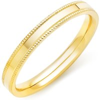 18ct Gold Vintage Ladies Wedding Ring