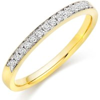 18ct Gold Diamond Half Eternity Wedding Ring