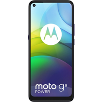 Moto G9 Power 128GB Violet at ' £0 on Red (24 Month contract) with Unlimited mins & texts; 30GB of 5G data. ' £26 a month (Con.