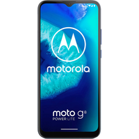 Moto G8 Power Lite 64GB Royal Blue at ' £0 on Unlimited Max (24 Month contract) with Unlimited mins & texts; Unlimited 5G data. ' &.